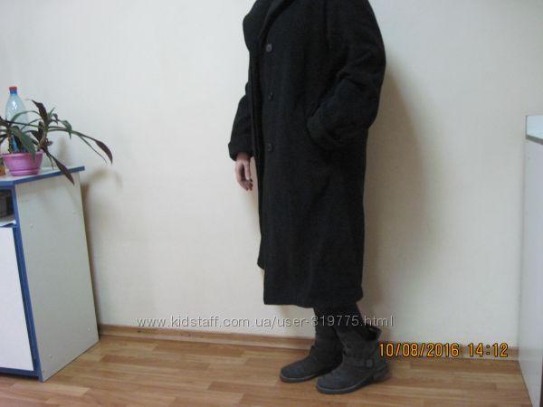 Шерсть бойфренд пальто MILO COATS Германия, наш 48 разм. в отлич. состоянии