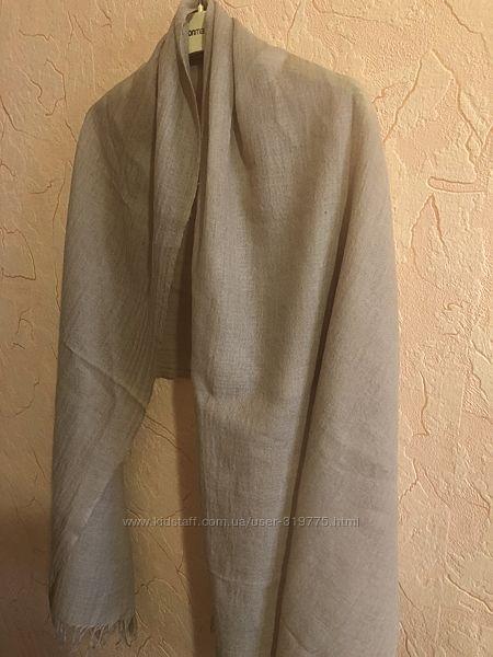 Шикарная шаль шарф палантин чистый кашемир