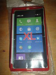 Яркий и качественный силиконовый чехол для телефонов Nokia XL