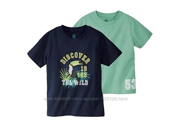 Набор футболок LUPILU, р.86/92, 98/104