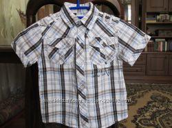 Рубашка летняя на мальчика 3 лет