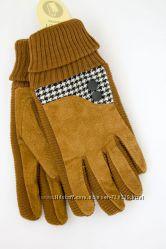 Женские замшевые перчатки  504