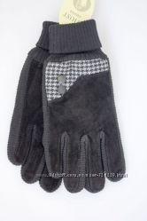 Женские замшевые перчатки 503