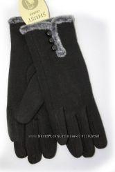 Женские стрейчевые перчатки 517