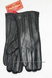 Женские перчатки из натуральной кожи 2201