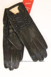 Женски перчатки из натуральной кожи 2524