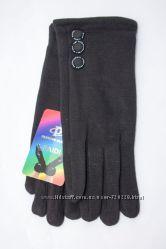 Женские стрейчевые перчатки 8755