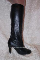Высокие сапоги натуральная кожа, 41 р-р