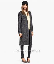 Пальто H&M, р-р 8, в составе шерсть и махер