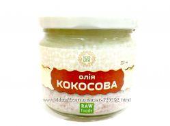 Кокосовое масло холодного отжима 300мл