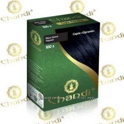 Краска для волос Chandi органик. Черный цвет 100г