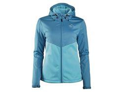 Crivit Softshell женская функциональная куртка ветровка на флисовой основе