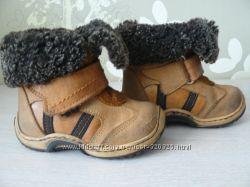 Кожаные зимние ботиночки Tofino на овчине