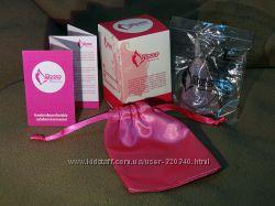 Подарочный набор - менструальная чаша Aneer, саше, коробочка, инструкция