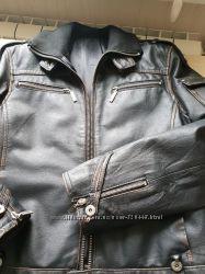 Кожаная куртка Motor Jeans р. M