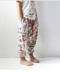 Летние яркие штаны девочкам