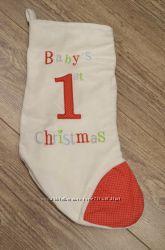 Рождественский носочек для подарков.