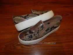 Слипоны туфли стильные