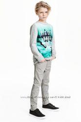 Штаны H&M Twill trousers Slim fit