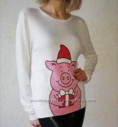 Новогодний свитерок Marks&Spenser