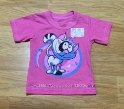 НОВАЯ футболка для девочки