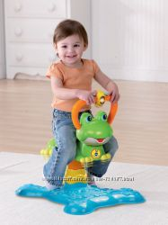 Прыгунки музыкальные Черепаха  VTech Count and Colors Bouncing Frog Toy