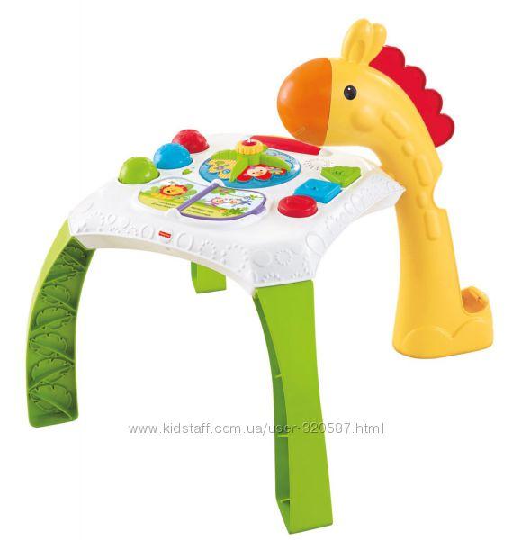 Уценка игровой столик Fisher-Price Animal Friends Learning Table