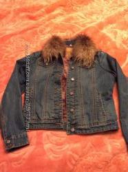 Крутая джинсовая курточка Silvian Heach