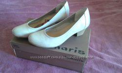 Кожанные туфли tamaris новые