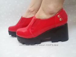 Туфли на платформе в наличии 37