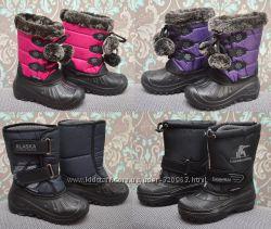 Зимові чобітки для мокрої погоди. Розміри 28-37. Дівч. і хлопч. В наявності