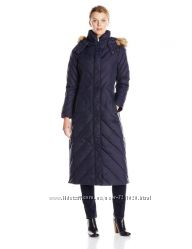длинная пуховая куртка-пальто Larry Levine