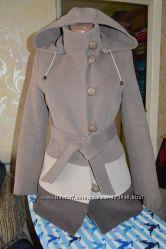 Женское драповое пальто Юджения