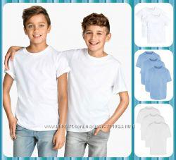 Новые футболки MATALAN, H&M, MOTHERCARE от 3 до 13 лет