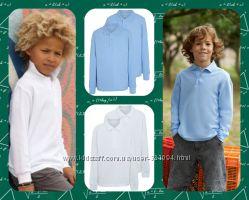 Новые поло с длинным рукавом George  до 13 лет есть для мальчиков и девочек