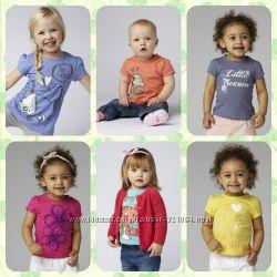 Новые футболки на любой вкус MOTHERCARE р. р. 9-12, 12-18, 18-24, 24-36мес