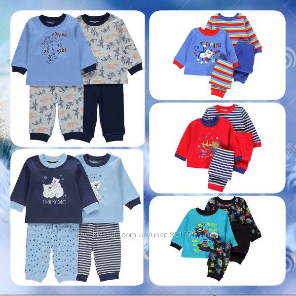 Новые пижамы для мальчика на любой вкус GEORGE р. 6-9, 9-12, 12-18, 18-24ме