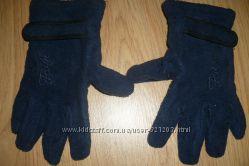 Перчатки флисовые с регулировкой ширины на запястье