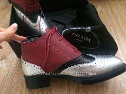 Изысканные ботиночки Prada для Ваших ножек.