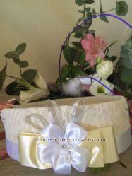Сито свадебное кружево шебби