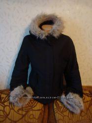 Коротенькая куртка с мехом