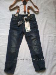 Модные джинсы для мальчика на  3г, Англия