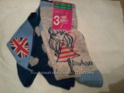 Детские носочки для девочек George, Primark, Dunnes, от0-6мес, от2-12лет