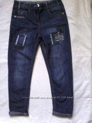 Модные джинсы для девочек 5 и 9 лет, Denim, Англия