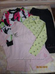 Пакет одежды для девочки на 4- 6 лет  2