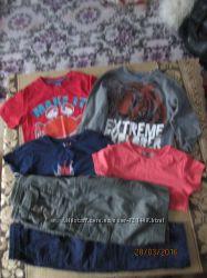 Пакет одежды для мальчика на 4 -6 лет     1