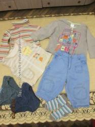 Пакет одежды для мальчика на 1-3 года