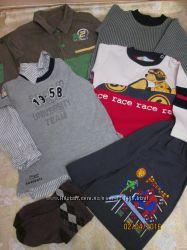 Пакет одежды для мальчика на  2-4 года
