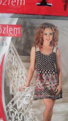 Ночные рубашички или платье для дома Турция хлопок