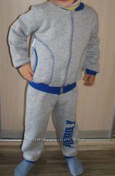 Новый спортивный костюм утеплённый Puma на мальчика р. 104 -110